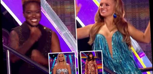 Strictly Come Dancing fans celebrate show's socially-distanced return as stars meet their professional partners