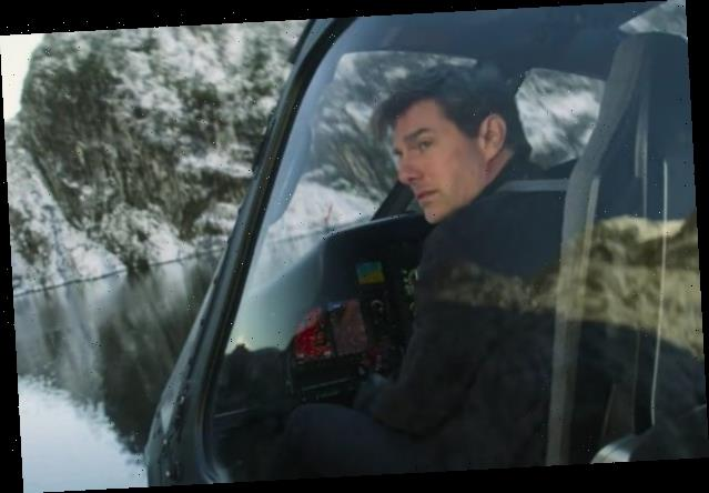 Tom Cruise Rides Atop a Speeding Train Filming 'Mission: Impossible 7'