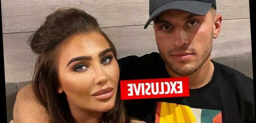 Lauren Goodger moves boyfriend Charles Drury into her home after 3 weeks of dating as pals say she's 'head over heels'
