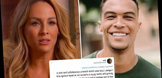Bachelorette Clare Crawley hints that 'editing' was reason behind 'Dale-obsessed' episode after 'liking' tweets