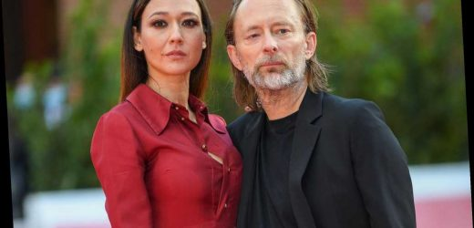 Radiohead's Thom Yorke and His Wife Dajana Roncione Make Red Carpet Debut After Tying the Knot