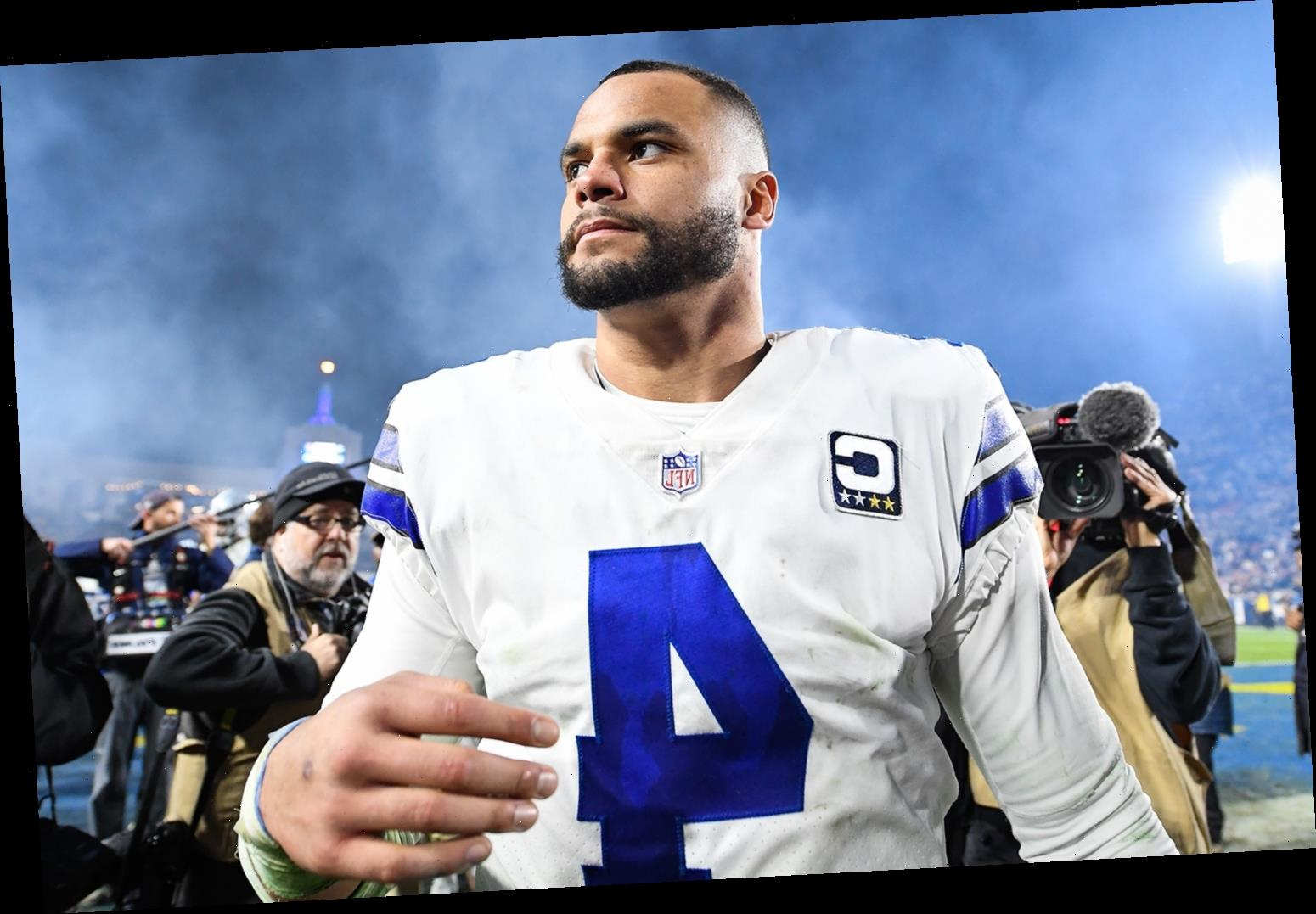 Dallas Cowboys Quarterback Dak Prescott Thanks Fans for Their Support Following His Ankle Injury