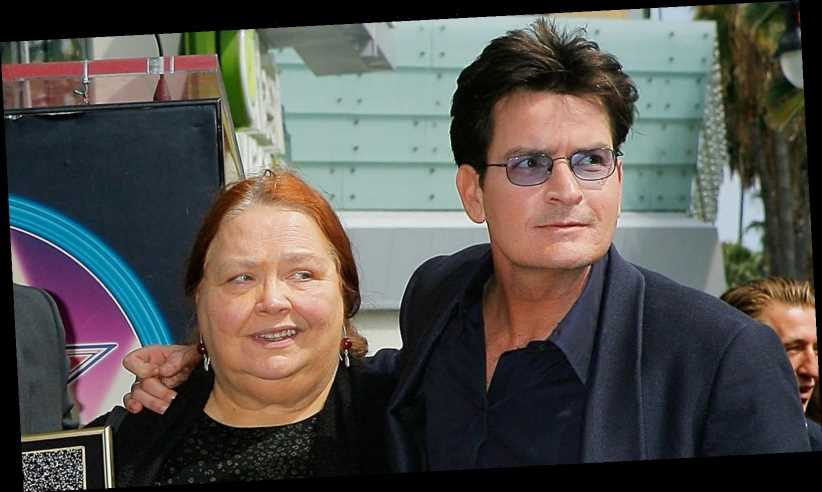 Charlie Sheen reacts to the death of Two and a Half Men costar Conchata Ferrell