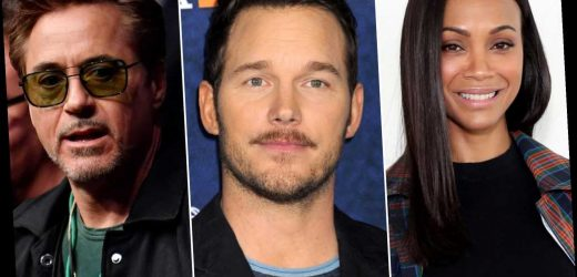 Chris Pratt's Marvel co-stars defend him after he's dubbed 'worst' Chris
