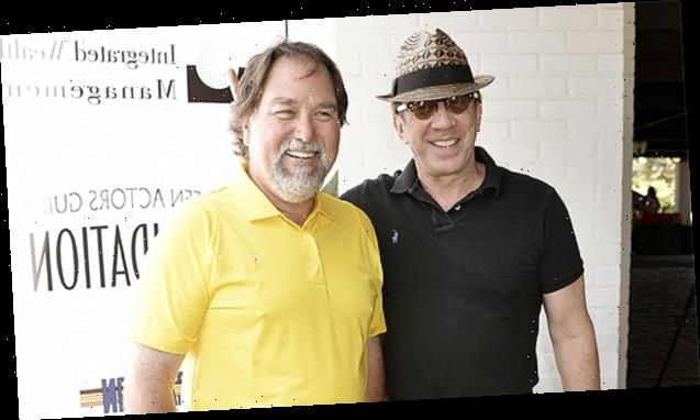 Tim Allen Reunites With 'Home Improvement' Co-Star Richard Karn & Fans Go Nuts – See Pics