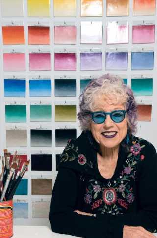 Artist Judy Chicago Reunites With Dior for Handbag Project