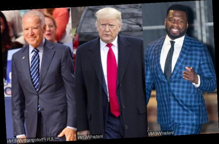 50 Cent Ridiculed for Endorsing Donald Trump Because of Joe Biden's Alleged Tax Plans