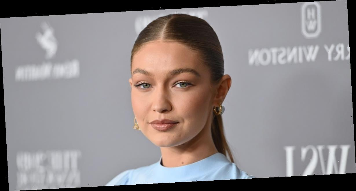 Gigi Hadid said she voted with her daughter by her side and is hoping 'for a leader that is compassionate'