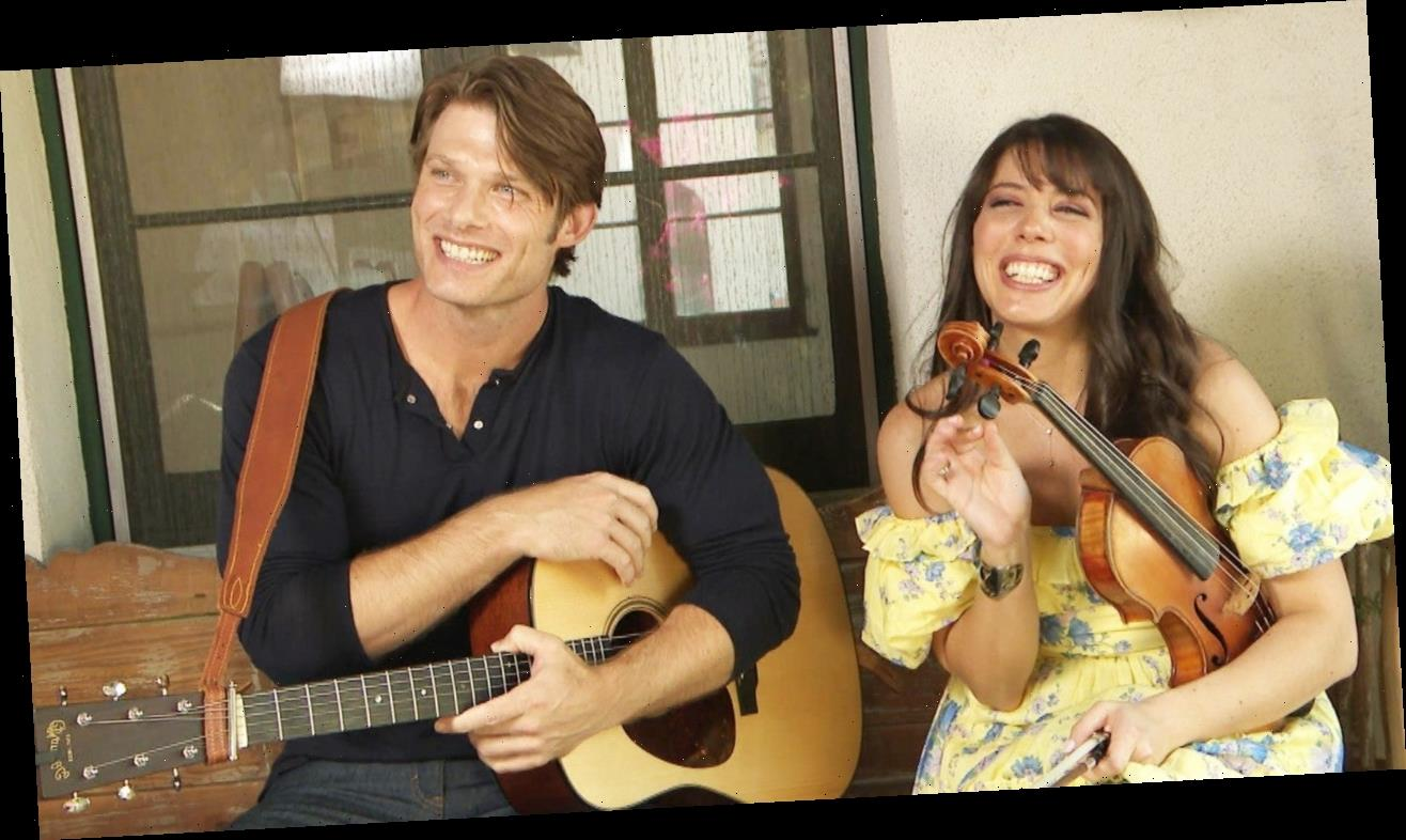 'Grey's Anatomy' Star Chris Carmack Talks Creating Music With His Wife