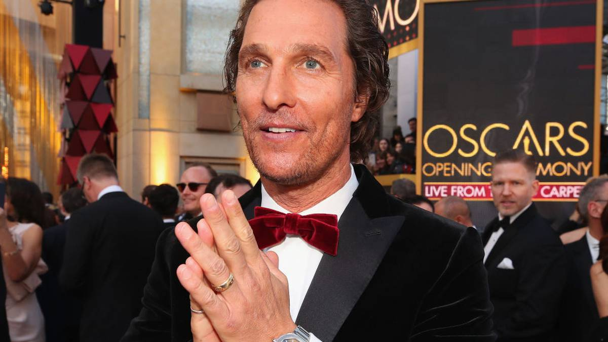 Matthew McConaughey barely spoke to his mum for eight years after becoming famous