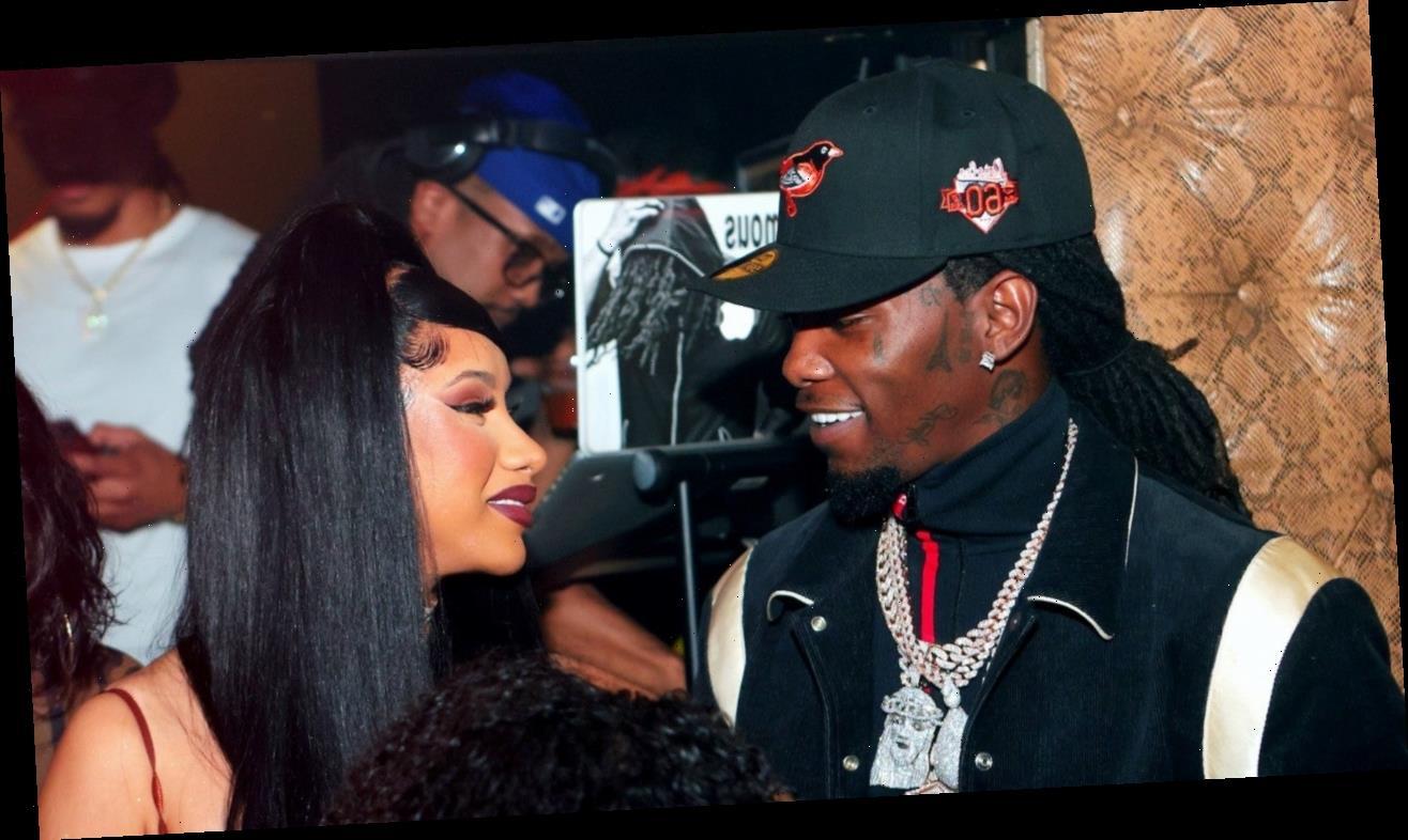Cardi B and Offset Reunite Again at Atlanta Strip Club Amid Divorce