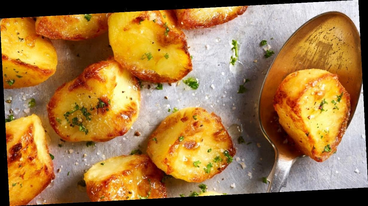 Chef explains how to make perfect, crispy roast potatoes in just 20 minutes