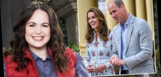Giovanna Fletcher speaks out on Kate Middleton and Prince William watching I'm A Celebrity