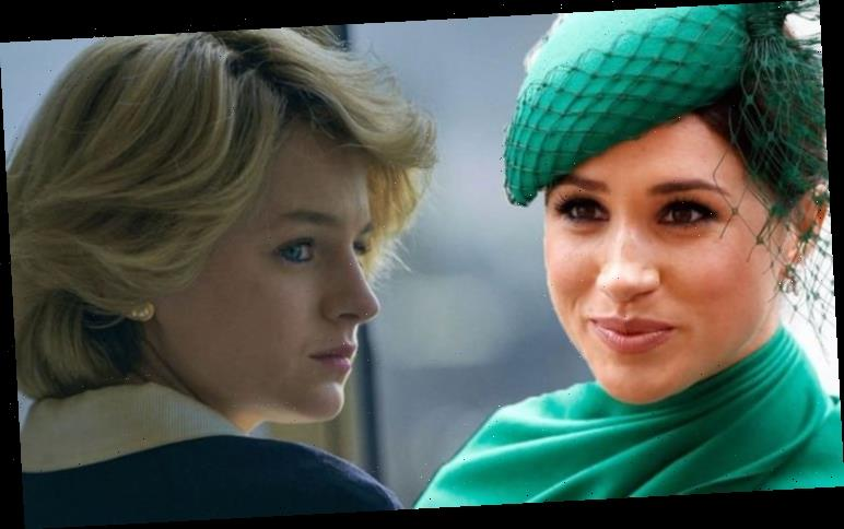 The Crown fans compare Princess Diana's royal treatment to Meghan Markle 'Horrid family'