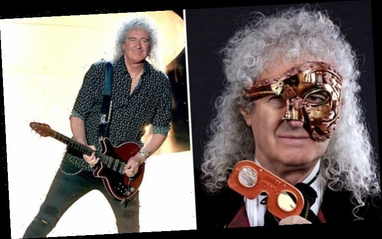 Queen's Brian May unveils cutting-edge STEAMPUNK 3-D stereoscopic viewer