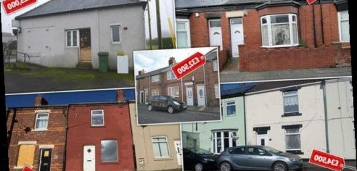 The places where you can buy a house for less than £40k in Britain?