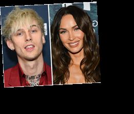Megan Fox Describes Machine Gun Kelly Relationship As 'Being In Love With A Tsunami'