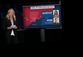 Jimmy Kimmel's Wife Uses 'Magic Wall' to Project Winner of New 'Bachelorette' Tayshia's Heart (Video)
