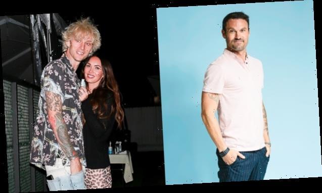 How Brian Austin Green Feels About Megan Fox Gushing Over Machine Gun Kelly Romance