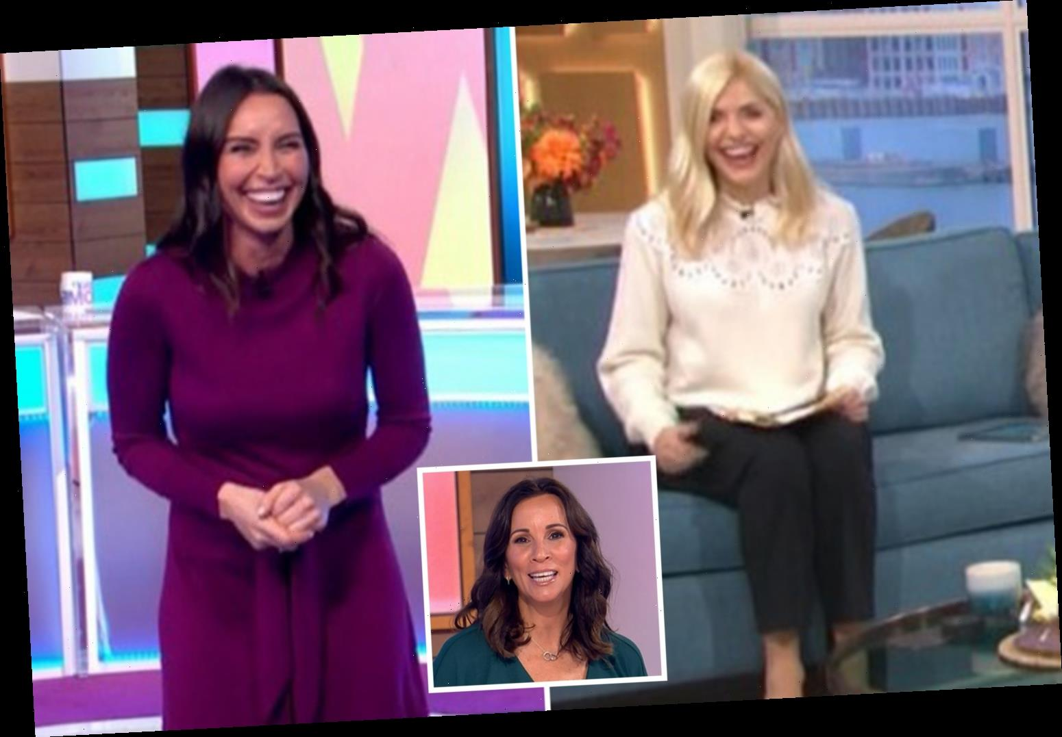 This Morning's Holly Willoughby apologises after awkwardly confusing Christine Lampard for Andrea McLean on Loose Women