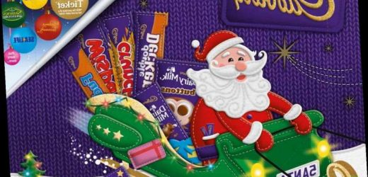Morrisons and Tesco are selling Cadbury selection boxes for £1