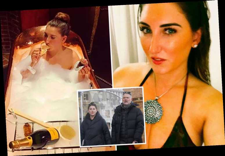 John Leslie, 55, kept relationship with hairdresser, 27, secret with coded Instagram posts as her family were 'furious'