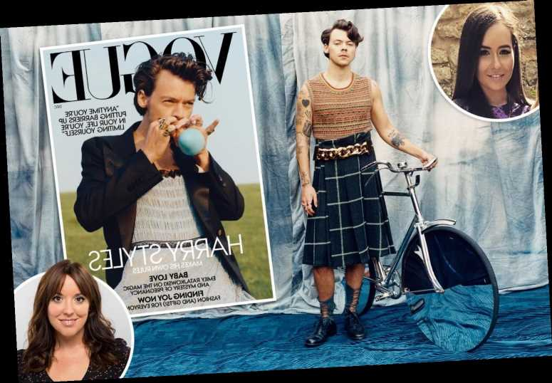 After Harry Styles stuns in dress on front of Vogue, we ask two women if they still find him sexy