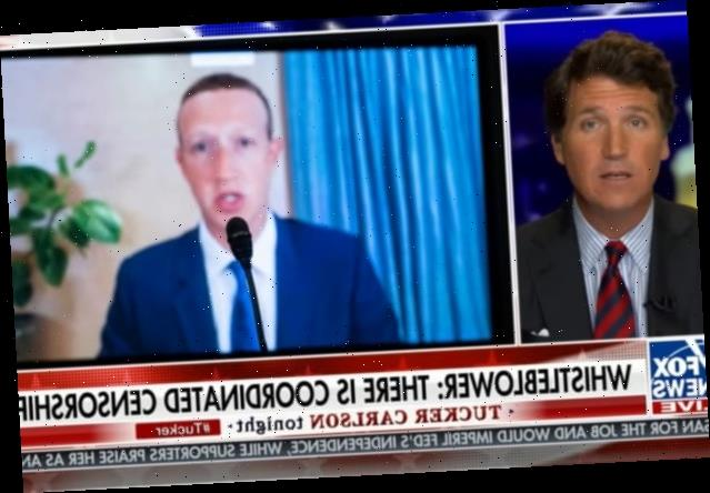 Tucker Carlson Panics Over Facebook, Google 'Censorship Cartel' (Video)