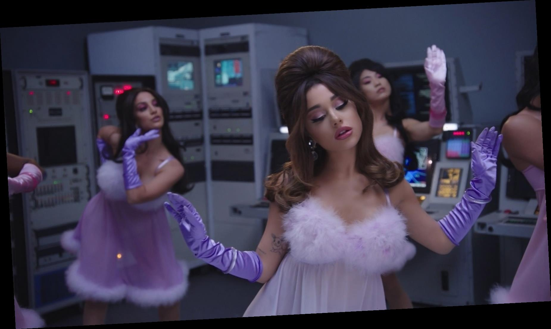 Ariana Grande Builds a Robot of Herself in '34+35′ Video