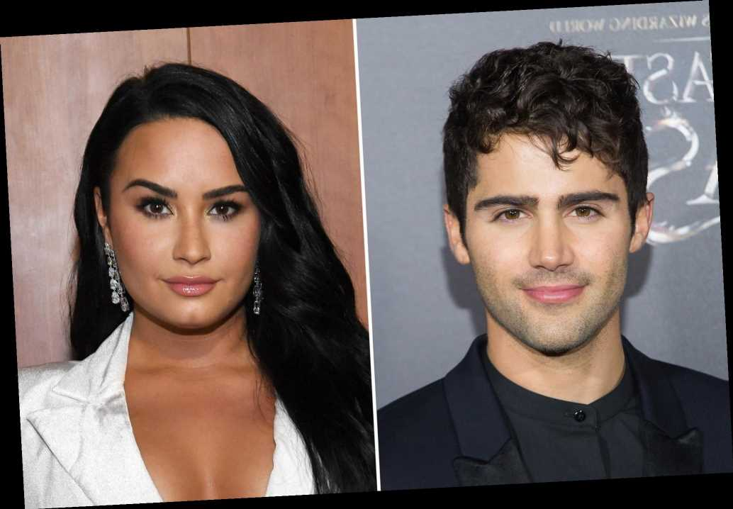 Max Ehrich thinks Demi Lovato is using their breakup for 'clout'