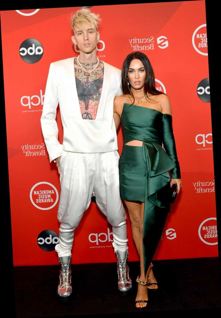 Megan Fox and Machine Gun Kelly Make Their Red Carpet Debut as a Couple at 2020 AMAs