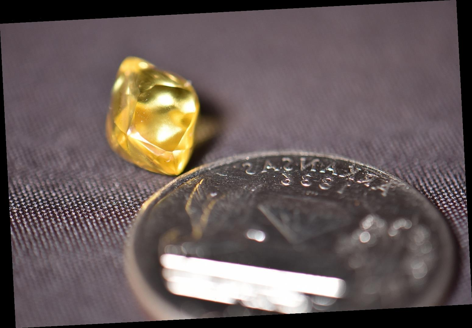 Man Finds 4.49-Carat Canary Diamond in Same Ark. Park Where a 9-Carat Diamond Was Unearthed