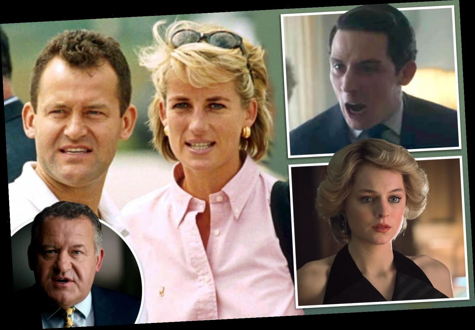 Princess Diana's butler Paul Burrell slams inaccuracies in The Crown and reveals what's real and what's fake