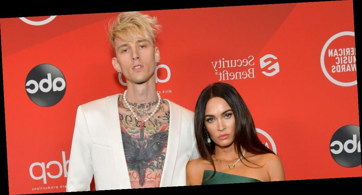 Megan Fox and Machine Gun Kelly wore completely different outfits for their first red-carpet appearance as a couple