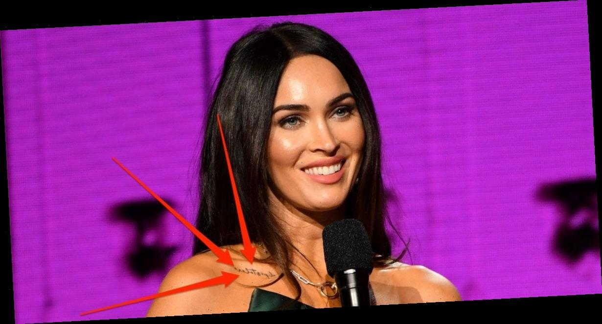Megan Fox now has a tattoo that appears to be inspired by Machine Gun Kelly