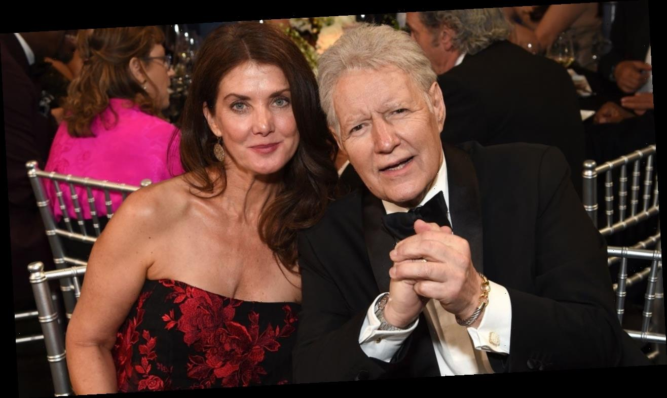 Alex Trebek's Wife Shares Wedding Photo and Thanks Fans for Support