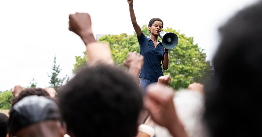 In 'Small Axe,' Letitia Wright Plays a Real-Life Black Panther