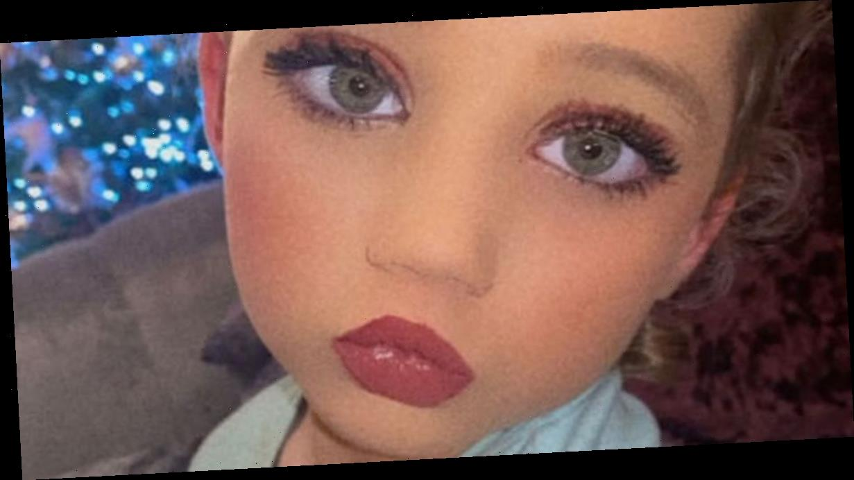 Katie Price shares snap of daughter Bunny, 6, in make-up leaving fans split