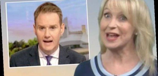 Carol Kirkwood snaps at BBC Breakfast's Dan Walker after he suggests new career