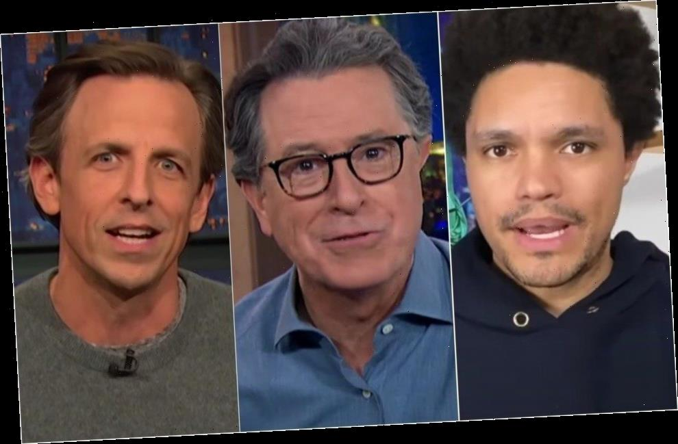 Late Night Hosts Cheer The Latest In A Long Line Of Defeats For Donald Trump