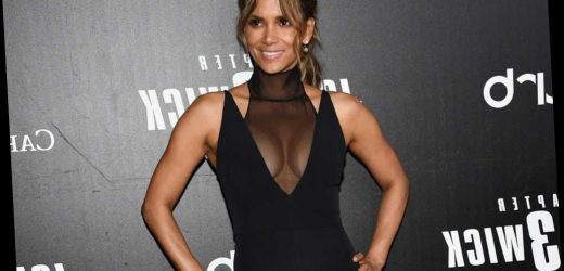 Shop the adjustable resistance band Halle Berry uses for full-body toning