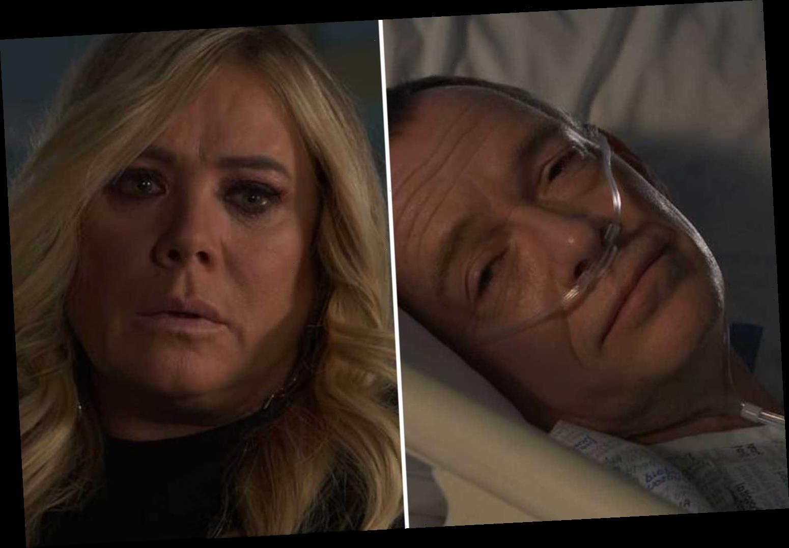 EastEnders shock as Ian Beale PROPOSES to Sharon Watts after being told he may die – and she considers it