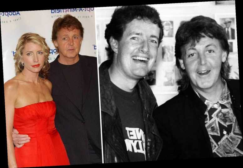Piers Morgan is freshfaced in throwback pic with Paul McCartney as he apologises for introducing him to ex Heather Mills