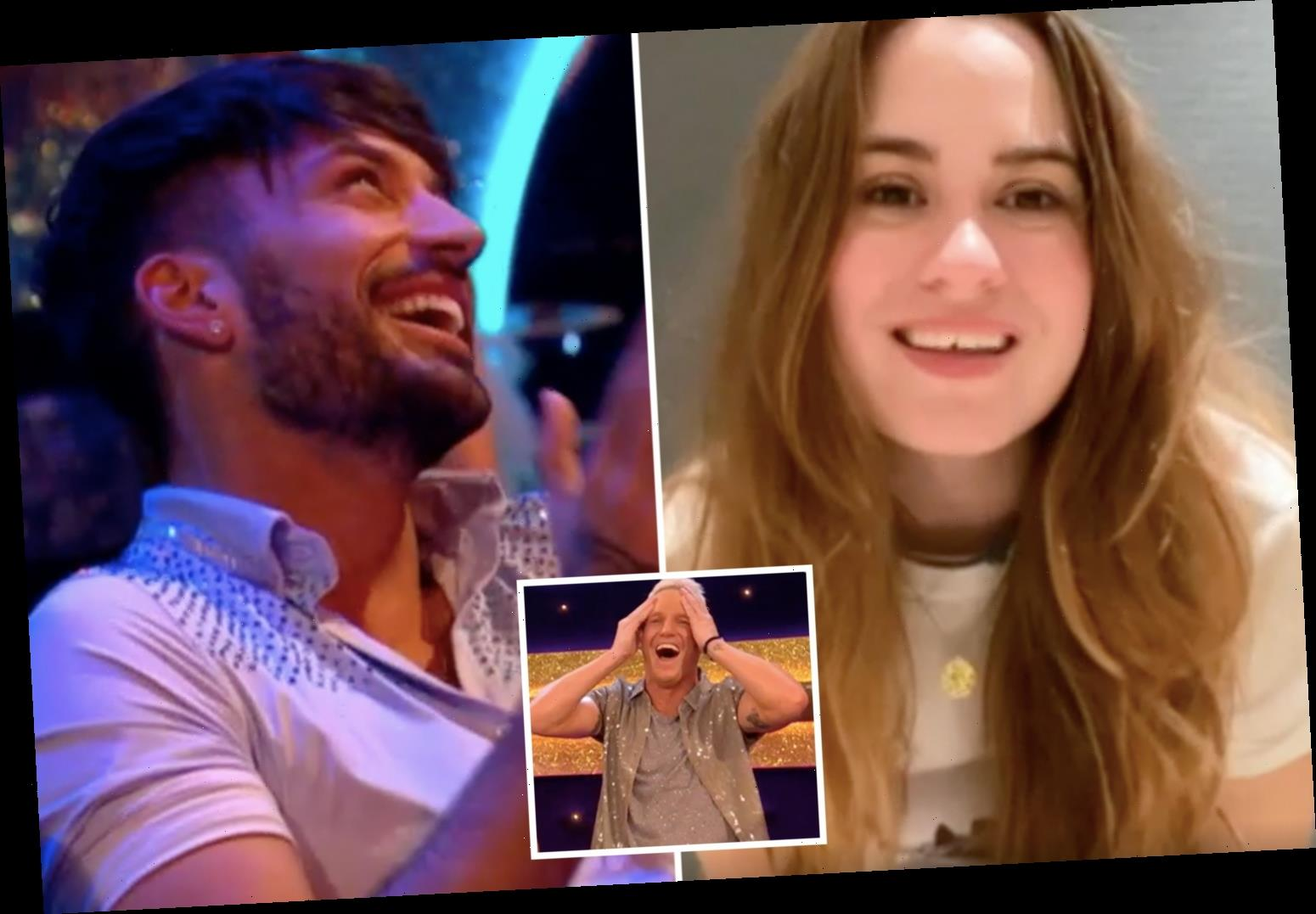 Strictly viewers in hysterics as Jamie Laing's sister demands he give Giovanni Pernice her number