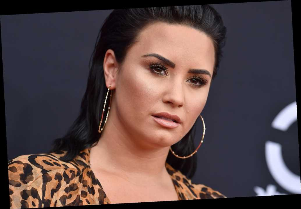 Demi Lovato says goodbye to 2020's 'toxic energy' with evil eye manicure