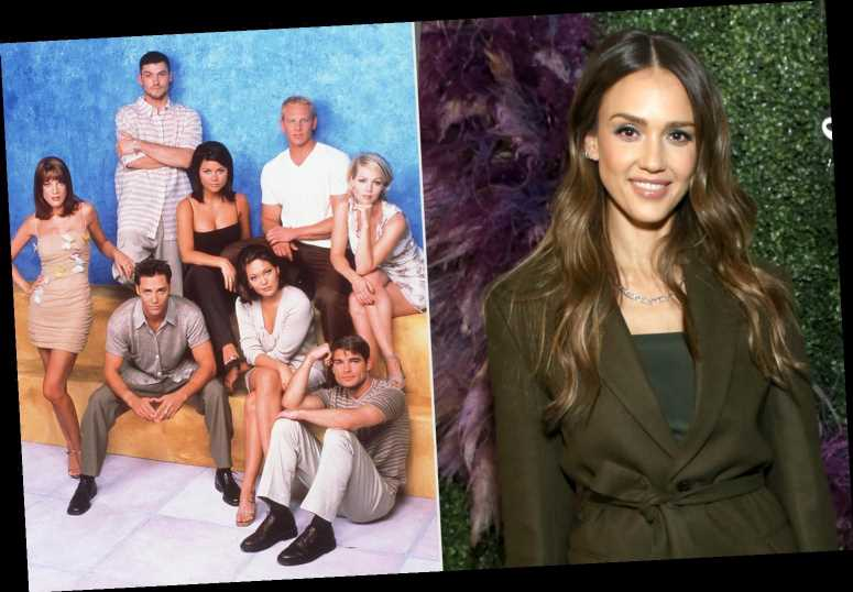 Jessica Alba Says She Was Told Not to Make Eye Contact with 90210 Cast as a Guest Star