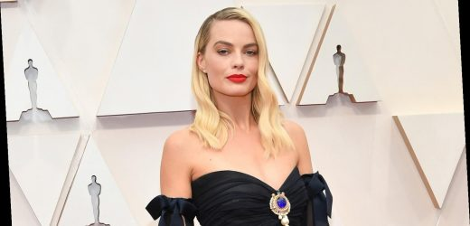 Here's What Margot Robbie's Real Hair Looks Like