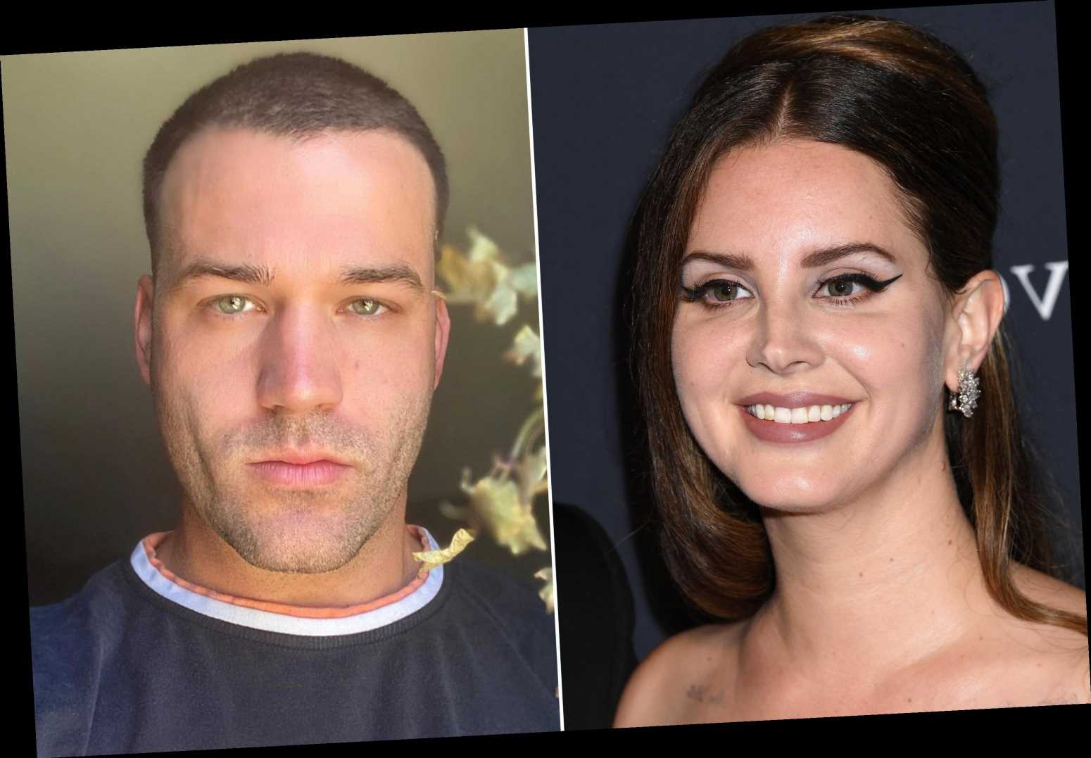 Lana Del Rey shares photo with fiancé