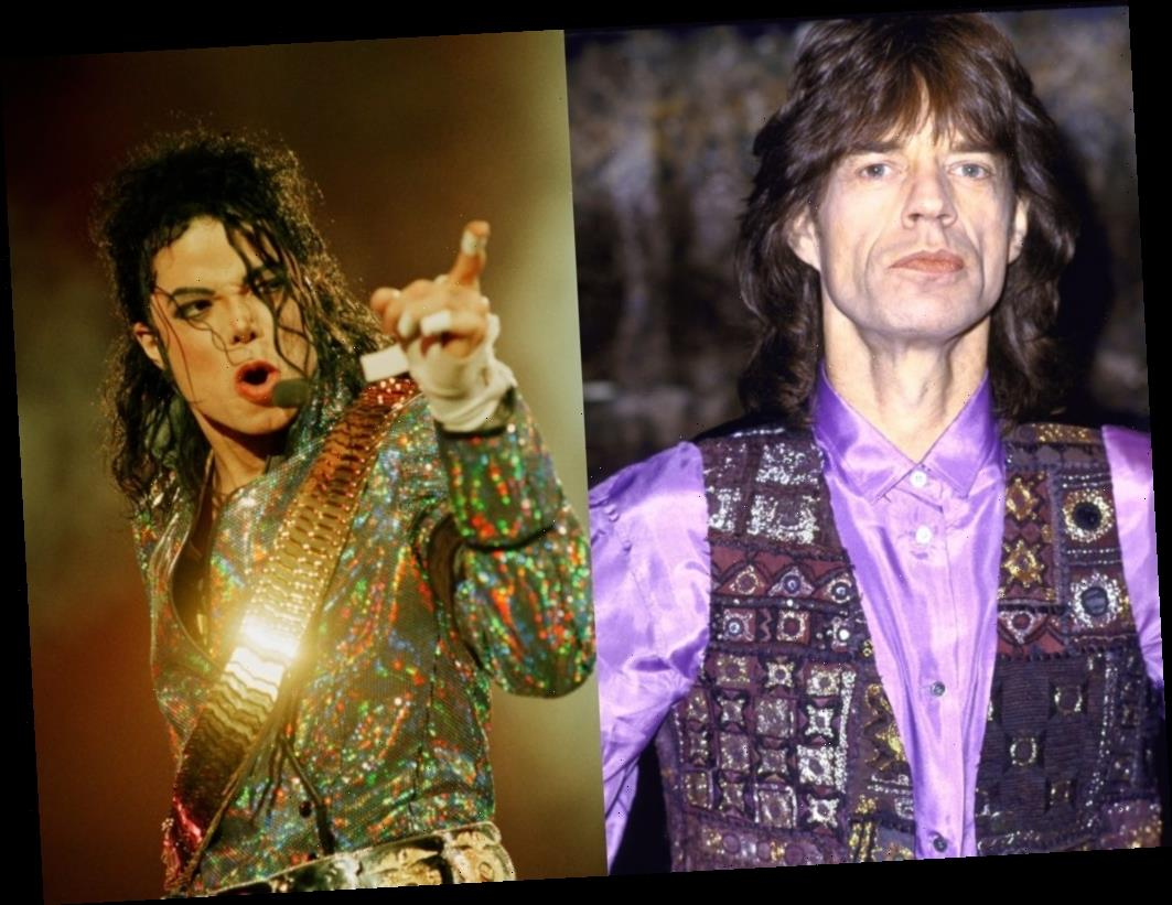Mick Jagger and Michael Jackson Were Unimpressed With Each Other For Sole Duet