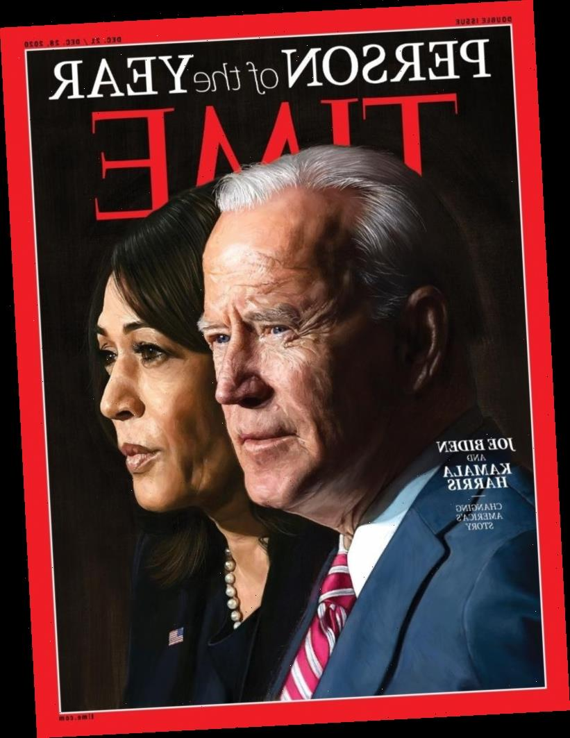 President-elect Joe Biden & VP-elect Kamala Harris are Time's People of the Year